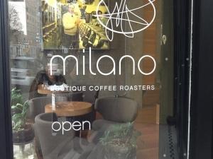 Exterior Milano Espresso Lounge