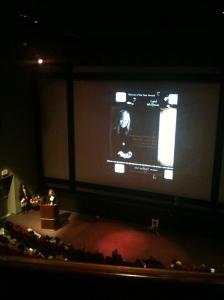 VWIFF 2012 Carol Whiteman presented with award