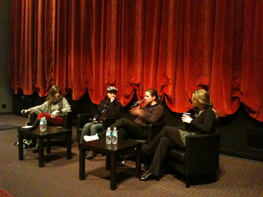 WVIFF 2012 Director's Panel Discussion moderated by Katherine Monk