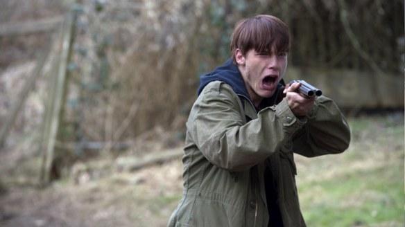 "Dakota Daulby stars as ""Jake Henson"" in Black Fly. Photo by Chris Helcermanas-Benge"