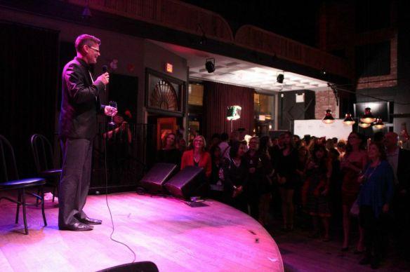 Ed Brando from William F. White on stage