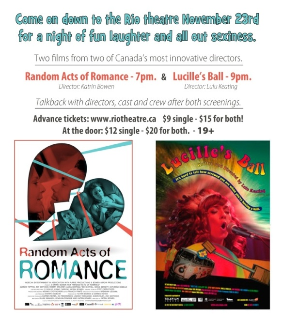 Screening Random Acts and Lucille's Ball