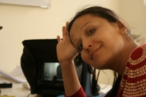 Photo of the director, courtesy of Brishkay Ahmed