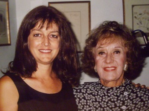 Kay D. Ray and interviewee Marian McPartland