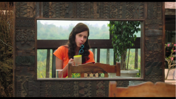 Kalki Koechlin as Laila in Margarita, with a Straw