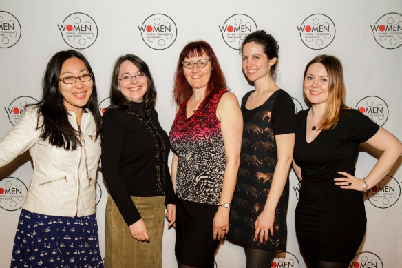 From left: Gloria Kim, Shereen Jerret, Carleen Kyle, Kate Lingley and Lindsey McNeill