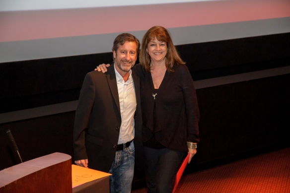 Gerry Rutherford and director Kay D. Ray